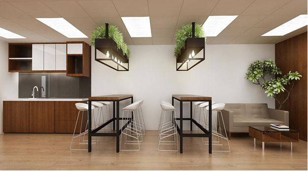 Ellcad: A nature touch fit out office design