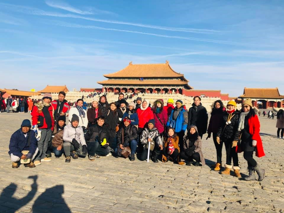 Ellcad Team at The Forbidden City